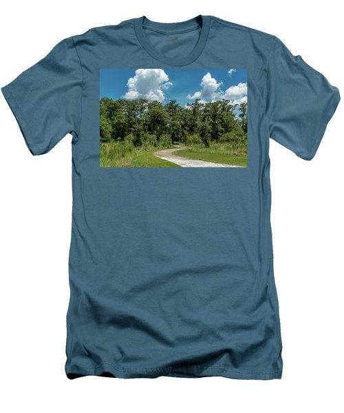 Take The Path Less Traveled Men's T-Shirt (Athletic Fit)