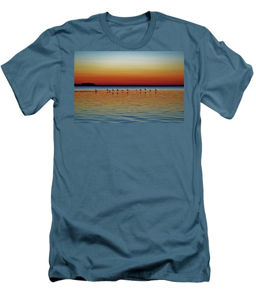 Taking Flight Men's T-Shirt (Slim Fit) by William Bartholomew