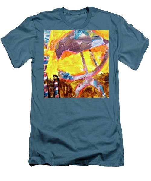 Tall Bird  Men's T-Shirt (Athletic Fit)