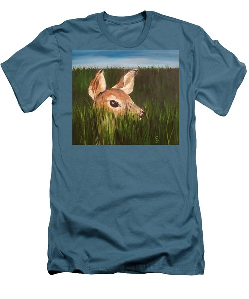 Tall Grass    #63 Men's T-Shirt (Athletic Fit)