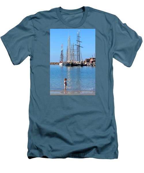 Tall Ship Festival Men's T-Shirt (Athletic Fit)