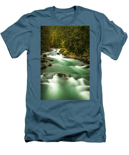 Tamihi Creek Men's T-Shirt (Athletic Fit)