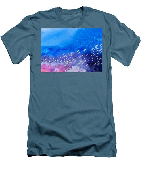 Men's T-Shirt (Slim Fit) featuring the painting Tavu Na  Siki by Ed Heaton