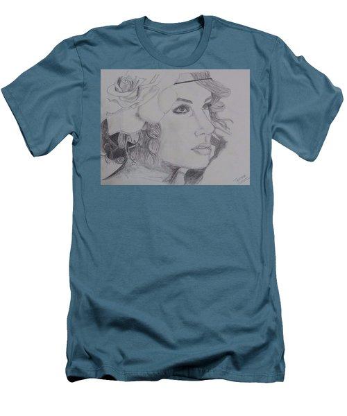 Taylor Swift Men's T-Shirt (Slim Fit) by Tanmaya Chugh