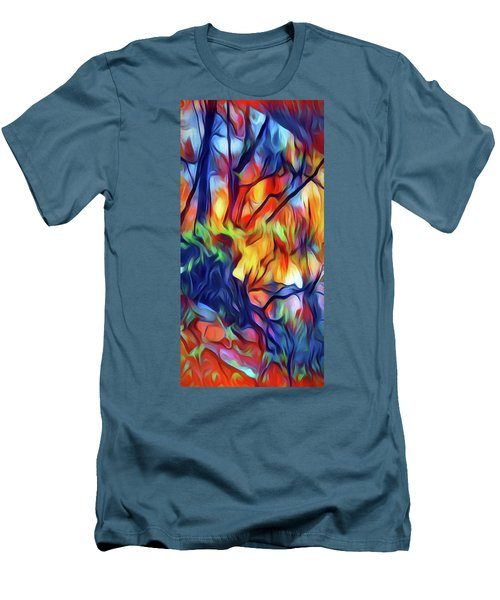 Taylors Creek Men's T-Shirt (Slim Fit) by David Hansen