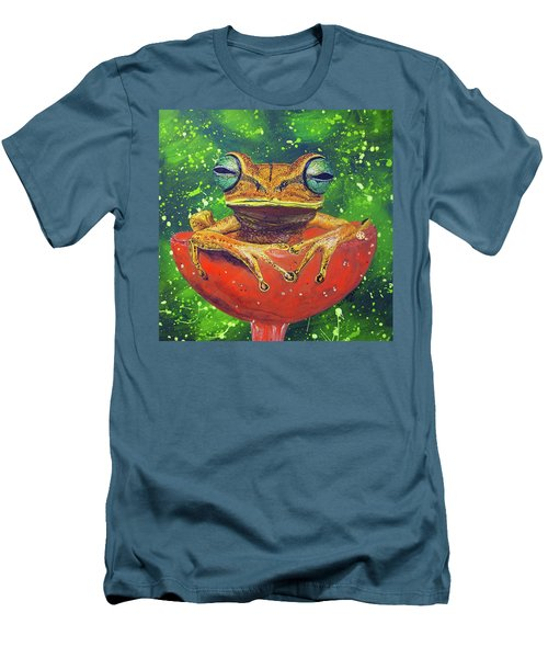 Tea Cup Treasures  Men's T-Shirt (Athletic Fit)