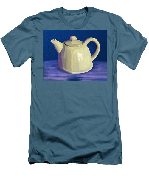 Teapot Men's T-Shirt (Athletic Fit)