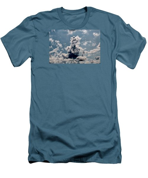 Men's T-Shirt (Slim Fit) featuring the photograph Teddy Bear by Leif Sohlman