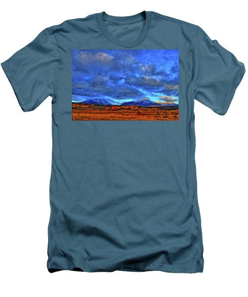Men's T-Shirt (Slim Fit) featuring the photograph Ten Mile Of Fall Colors by Scott Mahon