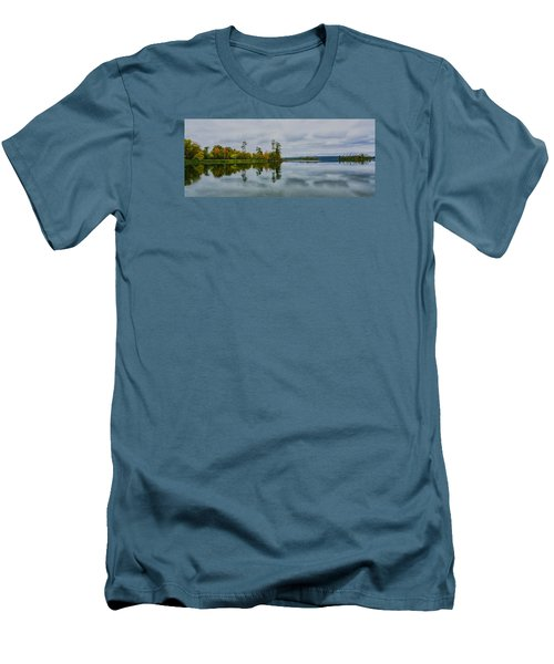 Men's T-Shirt (Slim Fit) featuring the photograph Tennesse River by Susi Stroud