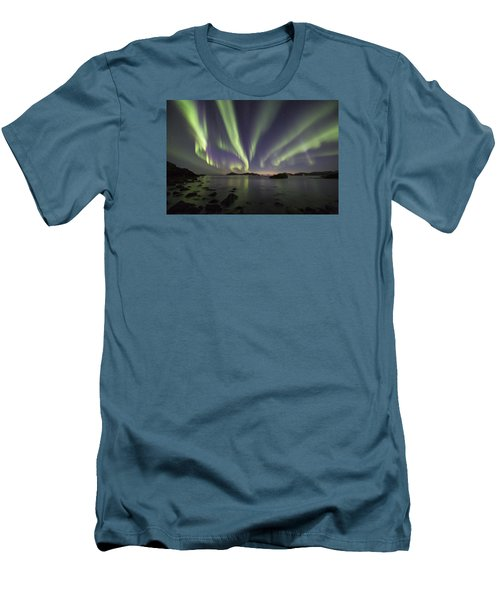 Tentacles In The Sky Men's T-Shirt (Athletic Fit)