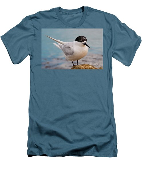 Men's T-Shirt (Slim Fit) featuring the photograph Tern 1 by Werner Padarin