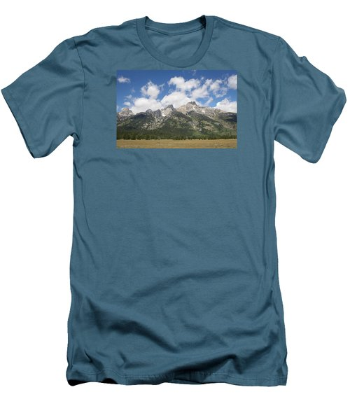 Teton View Men's T-Shirt (Slim Fit) by Diane Bohna