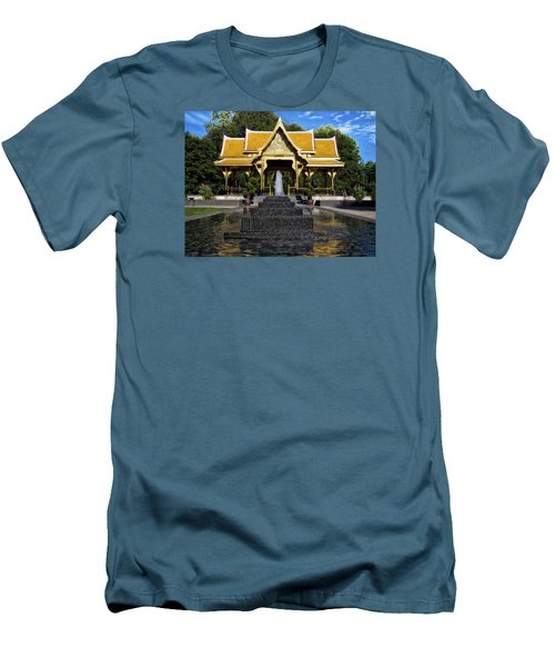 Thai Pavilion - Madison - Wisconsin Men's T-Shirt (Slim Fit) by Steven Ralser
