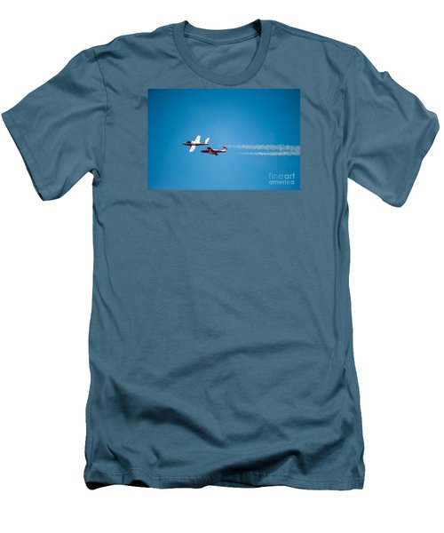 The 2 Snowbirds Men's T-Shirt (Athletic Fit)