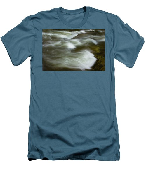 Men's T-Shirt (Slim Fit) featuring the photograph The Action On Top by Mike Eingle