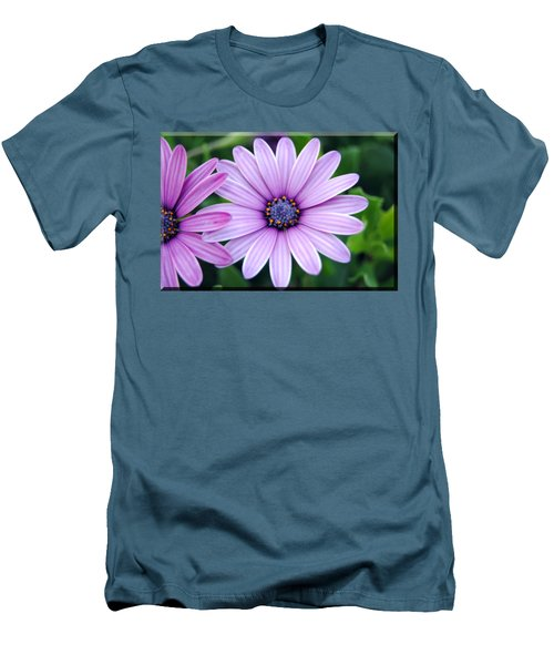 The African Daisy T-shirt 2 Men's T-Shirt (Slim Fit) by Isam Awad