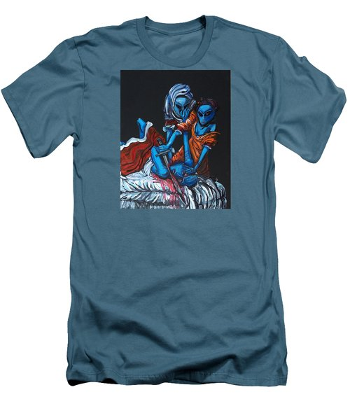 The Alien Judith Beheading The Alien Holofernes Men's T-Shirt (Athletic Fit)