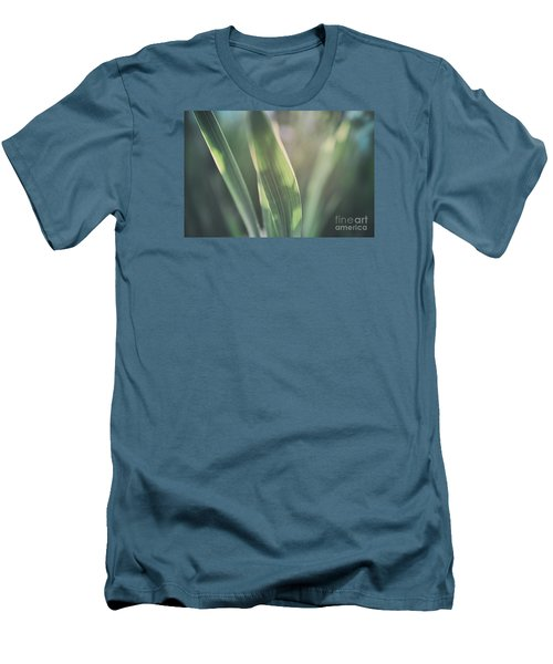 The Allotment Project - Sweetcorn Leaves Men's T-Shirt (Athletic Fit)