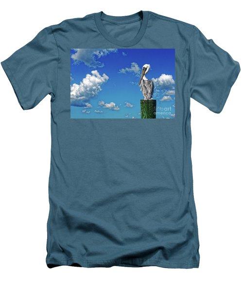 The American Brown Pelican Men's T-Shirt (Slim Fit)
