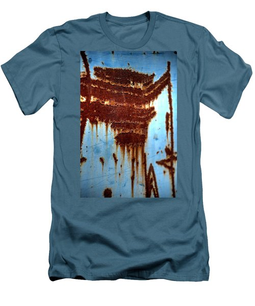 The Art Of Rust Men's T-Shirt (Slim Fit) by Jerry Sodorff