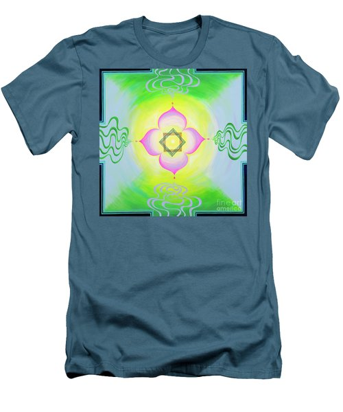 The Bagua Of The Heart Men's T-Shirt (Athletic Fit)