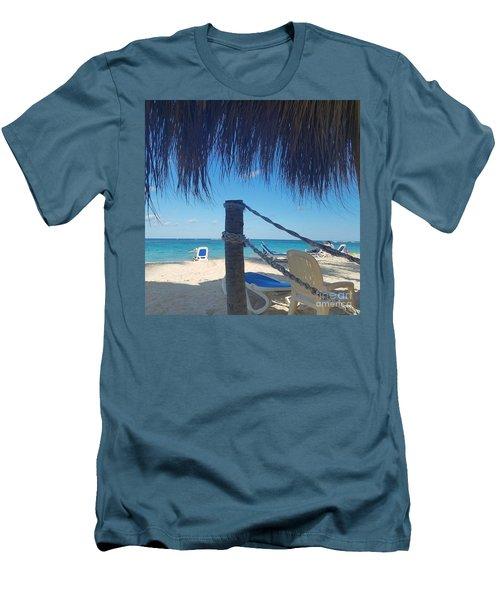 The Beach's Edge Men's T-Shirt (Athletic Fit)