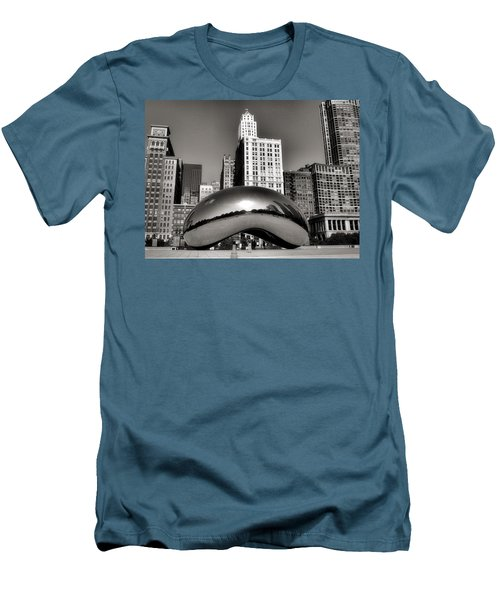 The Bean - 3 Men's T-Shirt (Slim Fit) by Ely Arsha