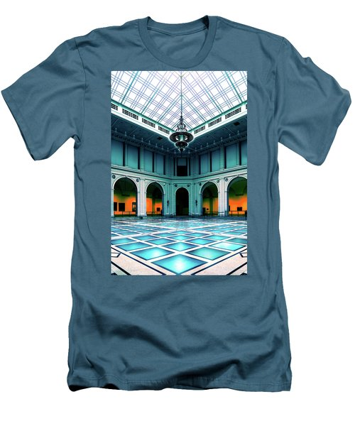 Men's T-Shirt (Slim Fit) featuring the photograph The Beaux-arts Court by Chris Lord