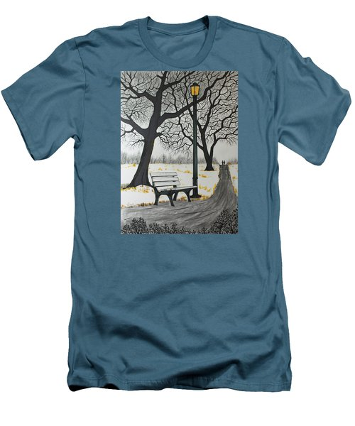 The Bench Men's T-Shirt (Slim Fit) by Jack G  Brauer