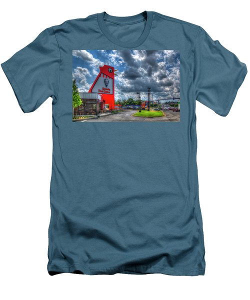 Men's T-Shirt (Athletic Fit) featuring the photograph The Big Chicken by Reid Callaway