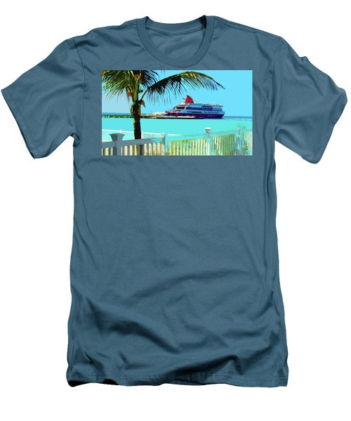The Bimini Boat Men's T-Shirt (Athletic Fit)
