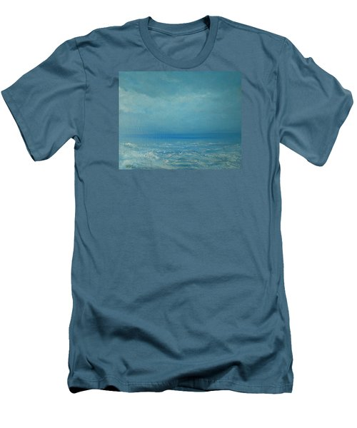 The Calm Before The Storm Men's T-Shirt (Slim Fit) by Jane See