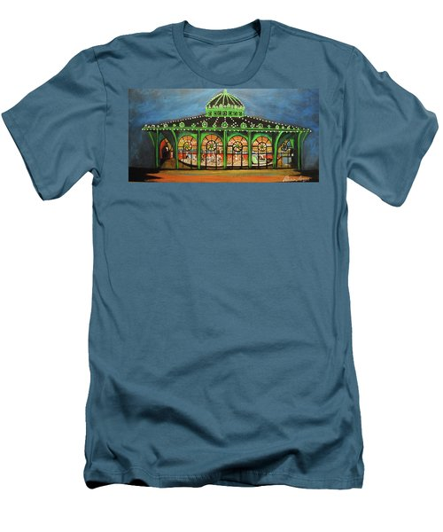 The Carousel Of Asbury Park Men's T-Shirt (Athletic Fit)