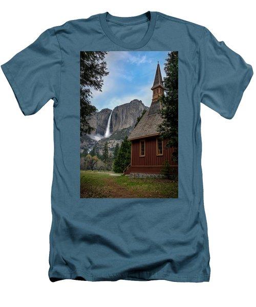 The Chapel Men's T-Shirt (Athletic Fit)