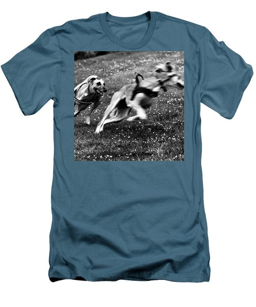 The Chasing Game. Ava Loves Being Men's T-Shirt (Athletic Fit)