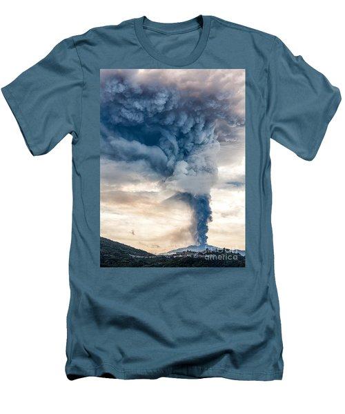 The Column Men's T-Shirt (Slim Fit) by Giuseppe Torre