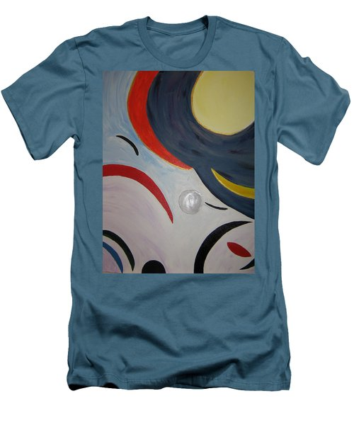 The Cosmos Men's T-Shirt (Slim Fit) by Barbara Yearty