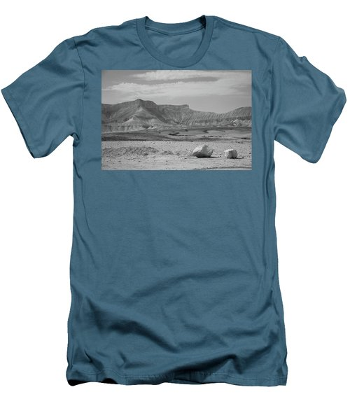 the couple of stones in the desert II Men's T-Shirt (Athletic Fit)