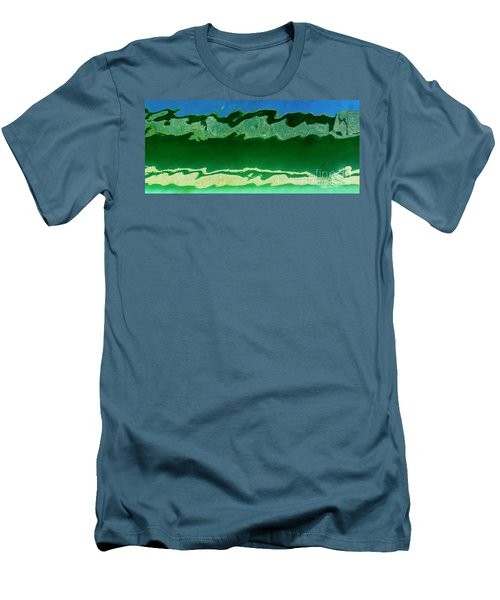 Men's T-Shirt (Athletic Fit) featuring the photograph The Deep End by Wendy Wilton