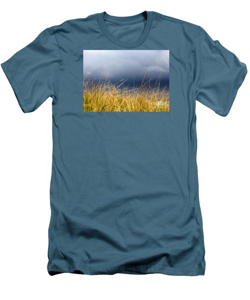 Men's T-Shirt (Slim Fit) featuring the photograph The Tall Grass Waves In The Wind by Dana DiPasquale