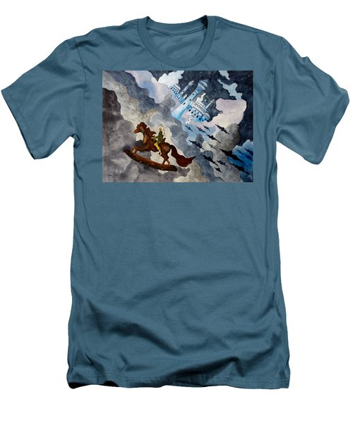 The Enchanted Horse Men's T-Shirt (Athletic Fit)