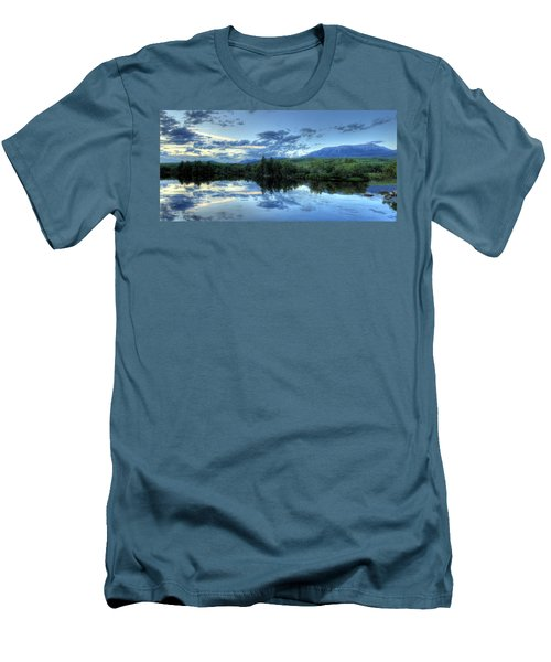 The End Is Near Men's T-Shirt (Slim Fit) by Lori Deiter