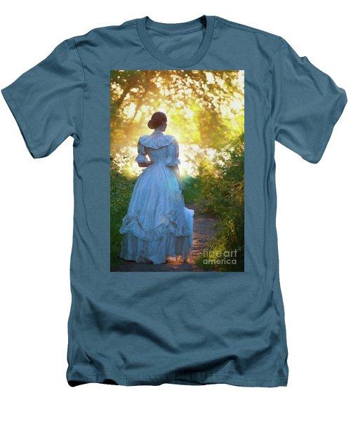 The Evening Walk Men's T-Shirt (Slim Fit) by Lee Avison