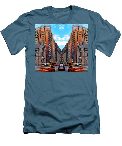 Men's T-Shirt (Athletic Fit) featuring the photograph The Fantacity by Matt Harang