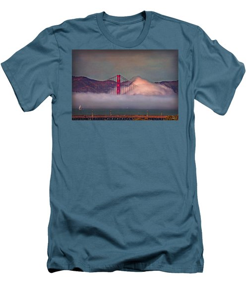 The Fog Men's T-Shirt (Slim Fit) by Hanny Heim