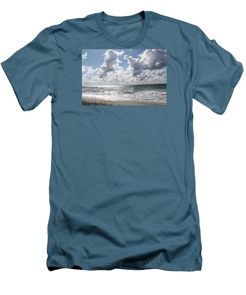 The Gate Way To Heaven Men's T-Shirt (Slim Fit) by Amy Gallagher