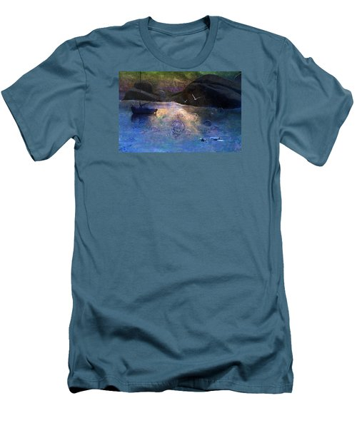 The Gathering Men's T-Shirt (Slim Fit) by Ed Hall