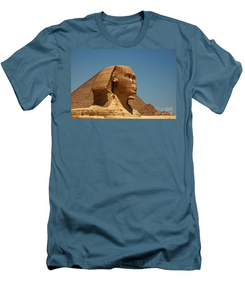 The Great Sphinx Of Giza Men's T-Shirt (Athletic Fit)