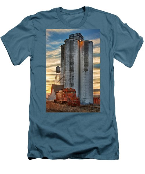The Great Western Sugar Mill Longmont Colorado Men's T-Shirt (Athletic Fit)